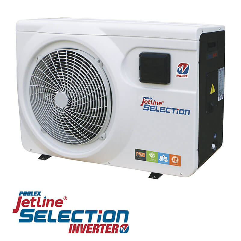 Pompe à Chaleur Poolex Jetline Selection Inverter 150 R32 Reconditionnée 90m3