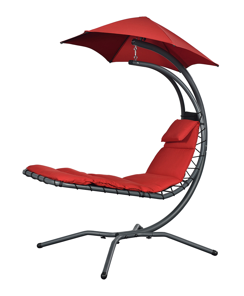 Chaise longue NEST MOVE rouge Reconditionné