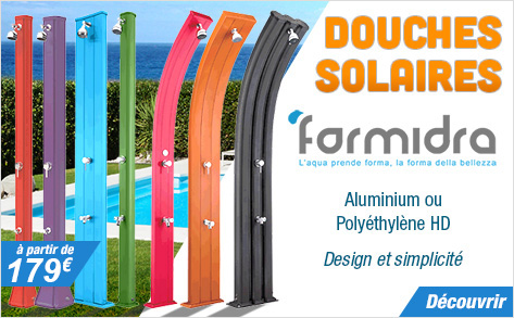 Douches solaires Formidra