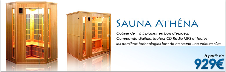 Cabine Infrarouge Athéna