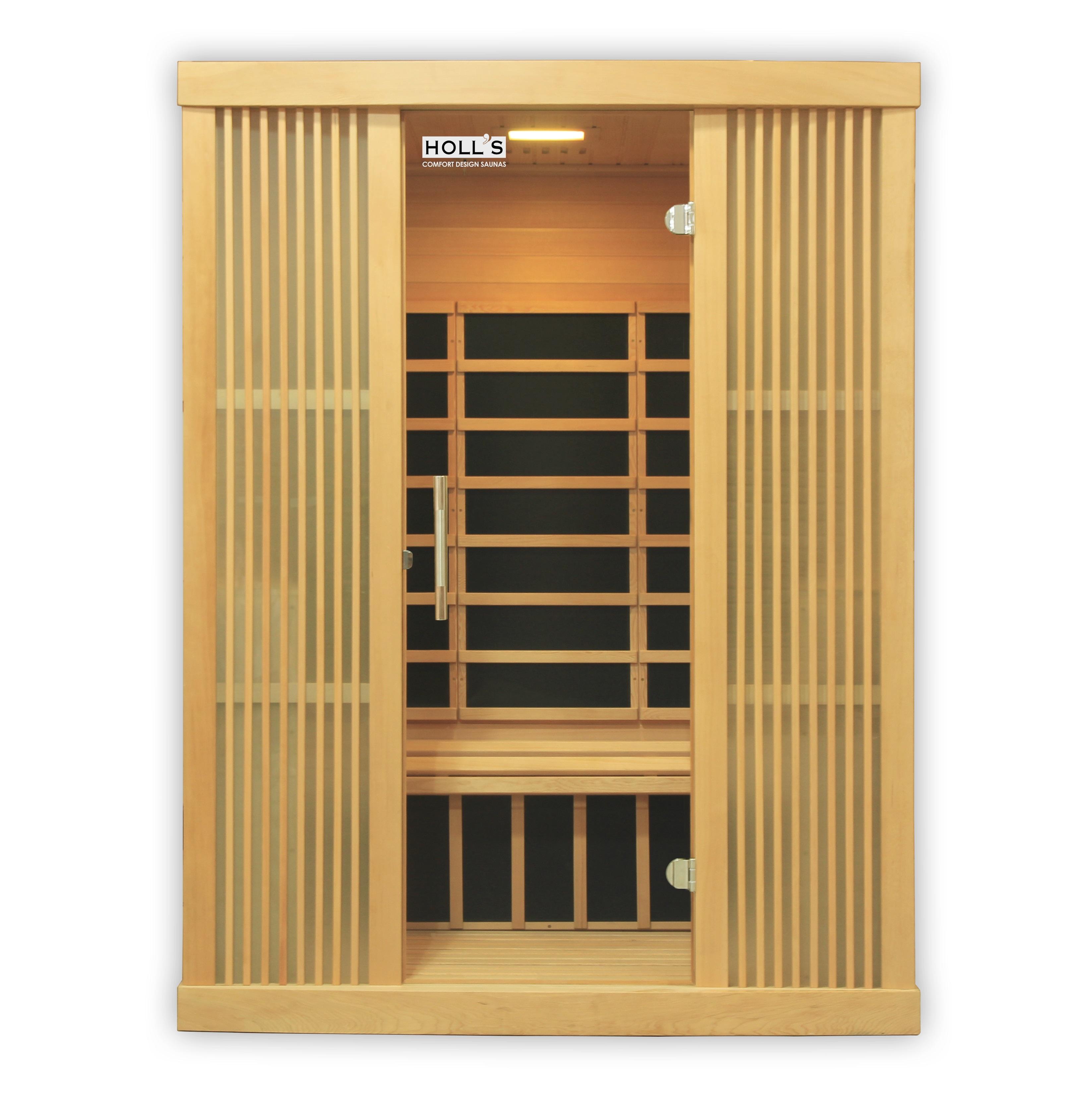 Piscinex sauna sauna infrarouge xylo 3 places - Sauna infrarouge 3 places ...