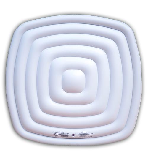 Piscinex boutique en ligne d 39 accessoire pour spa mspa couvercle gonfl - Bache pour spa gonflable ...