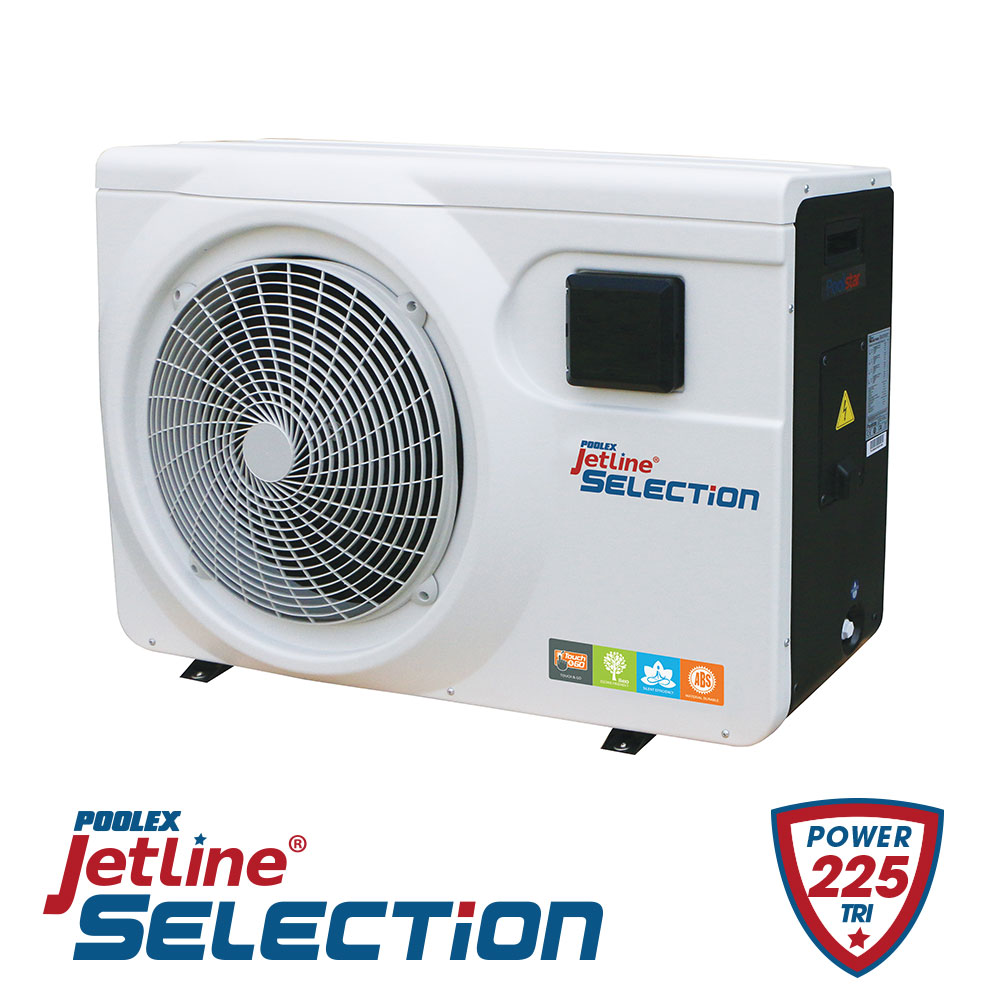 Pompe à Chaleur Poolex Jetline Selection 225 Tri Reconditionnée 120m3