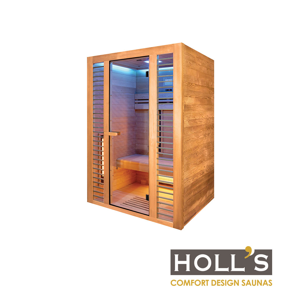 piscinex sauna sauna infrarouge v nus 2 places. Black Bedroom Furniture Sets. Home Design Ideas