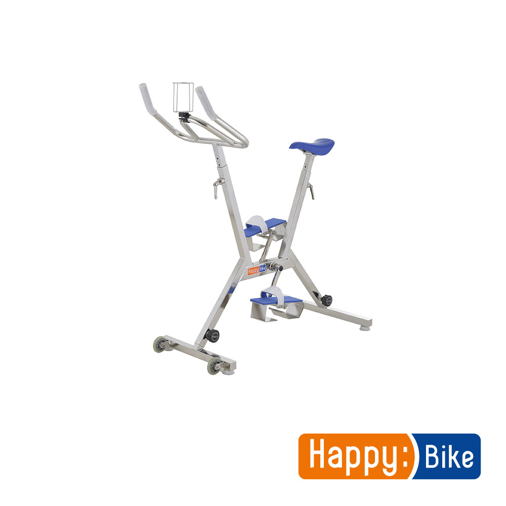 Vélo pour Piscine Happy Bike Bleu Reconditionné