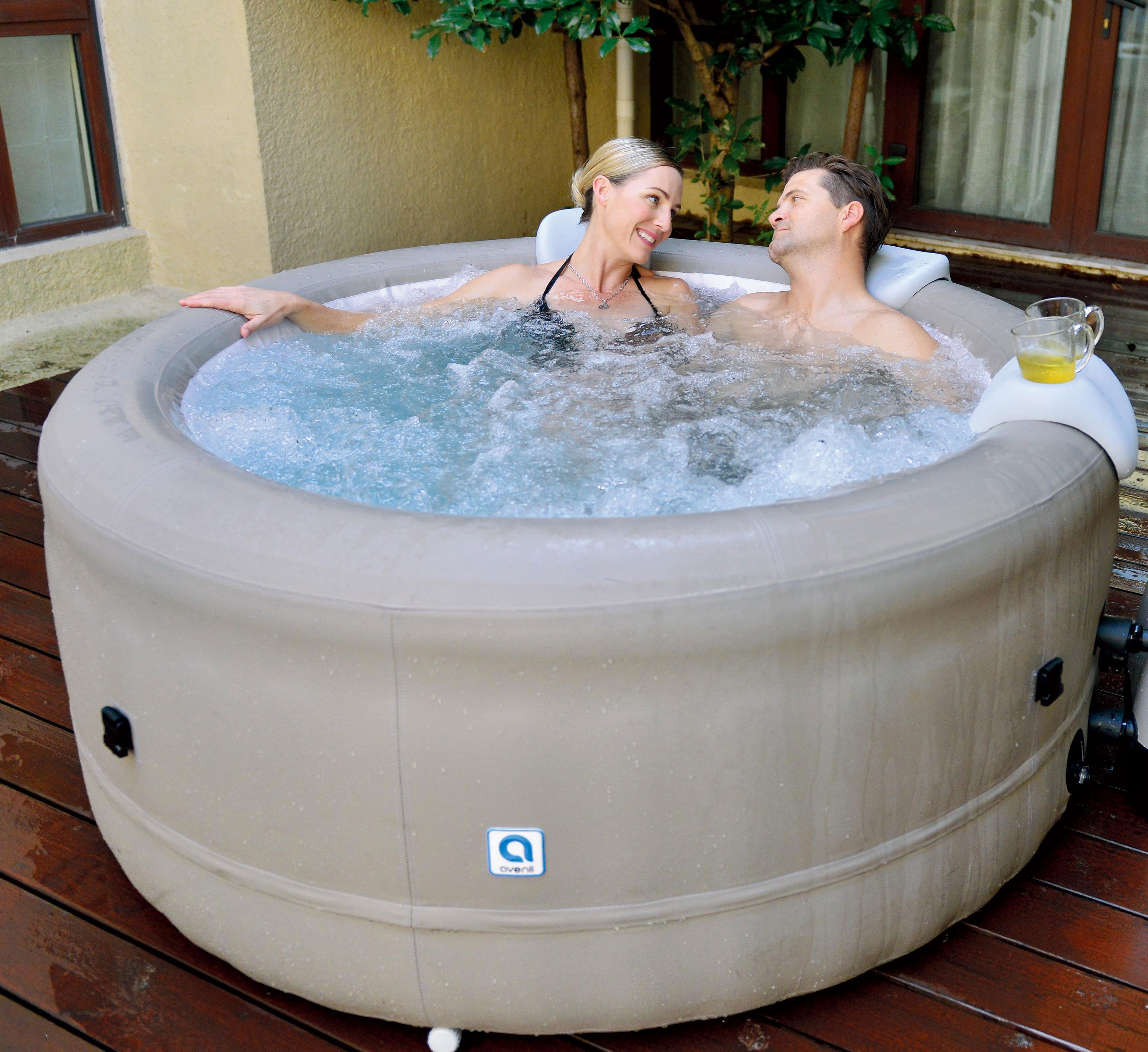 Piscinex spa spa avenli rotorua 3 personnes destockage - Destockage spa gonflable ...