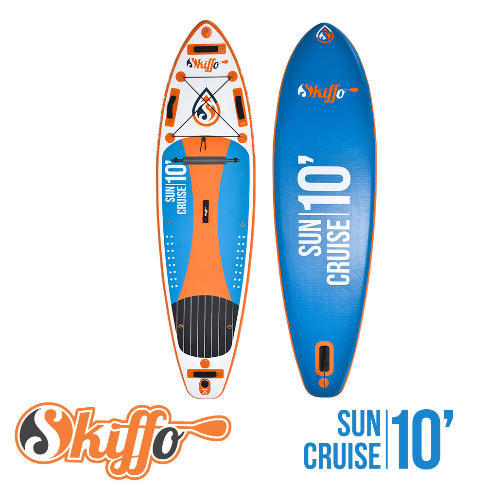 Skiffo Sun Cruise 10' - Stand Up Paddle Gonflable Skiffo pour les connaisseurs