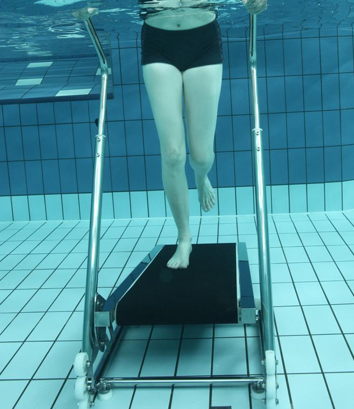 Piscinex tapis de marche aquatique aquajogg - Les bienfaits de la marche rapide sur tapis ...