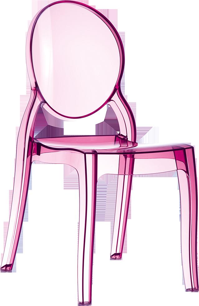Piscinex jardin chaises elie 2 coloris disponible - Chaise en plastique transparent ...