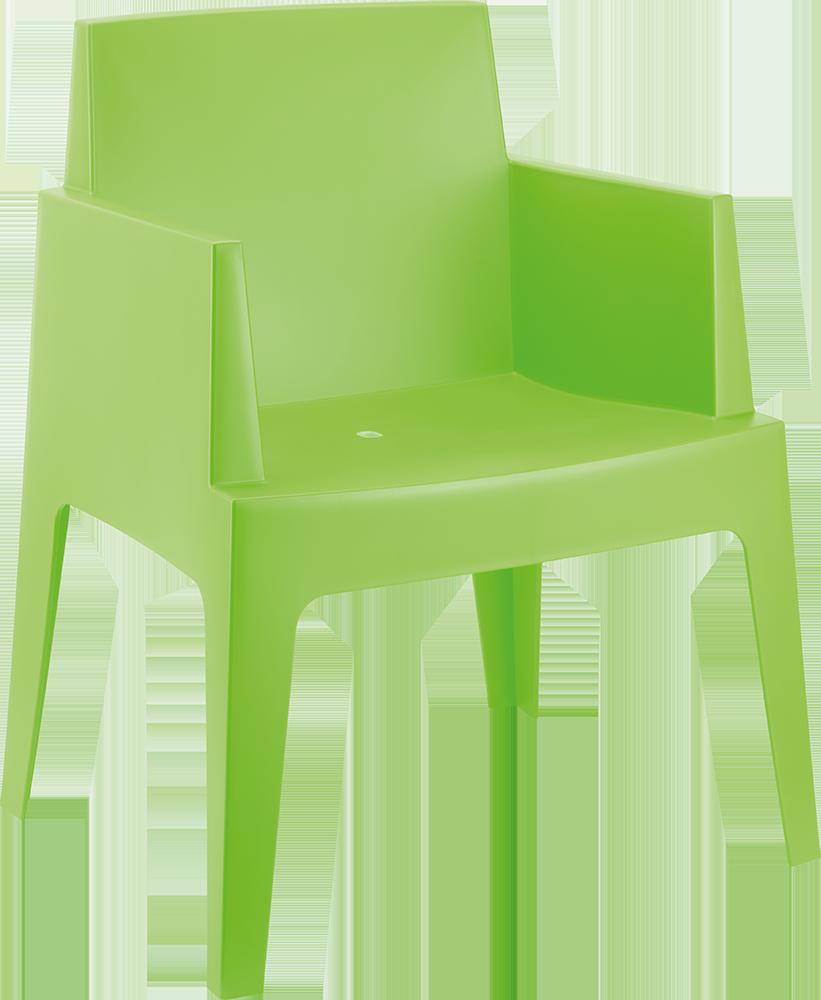 Piscinex mobilier de jardin lot de 4 chaises smart 4 coloris disponible lot de 4 - Chaise de jardin coloree ...