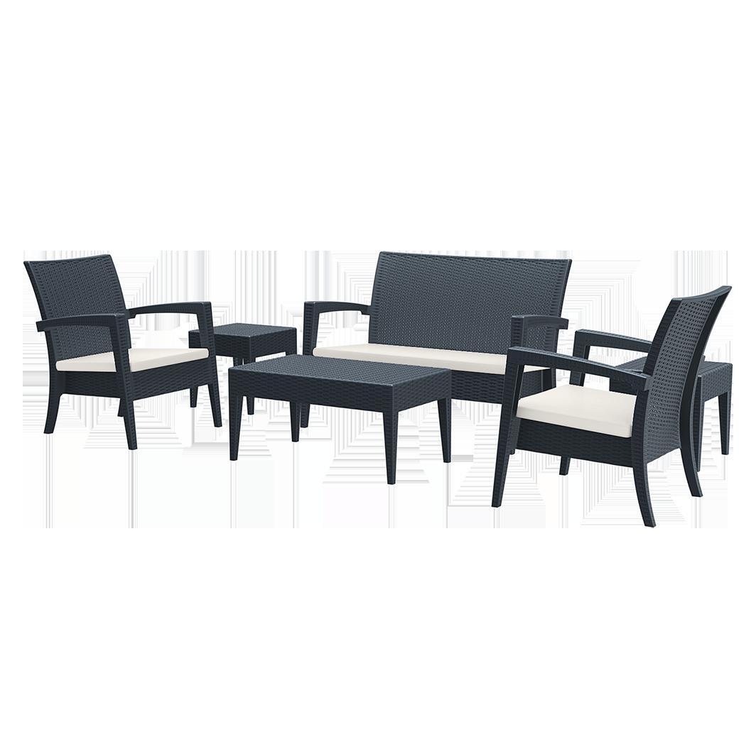 Piscinex mobilier de jardin set de salon de jardin for Set de jardin
