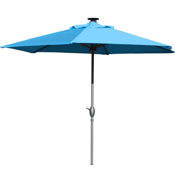 piscinex mobilier de jardin parasol luminaire solaire luciole bleu. Black Bedroom Furniture Sets. Home Design Ideas