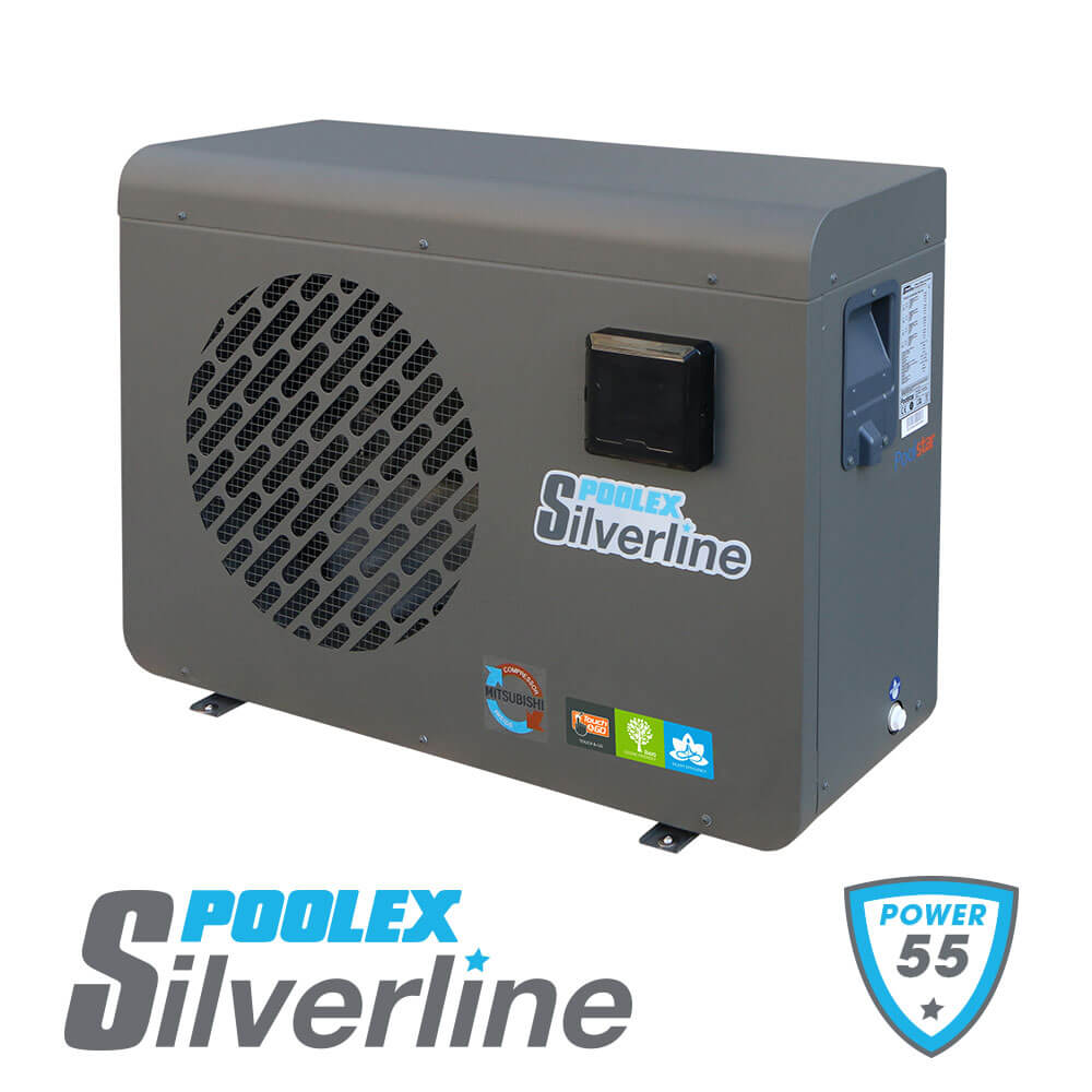 Pompe à Chaleur Poolex Silverline Reconditionnée 5,5kW 25m3