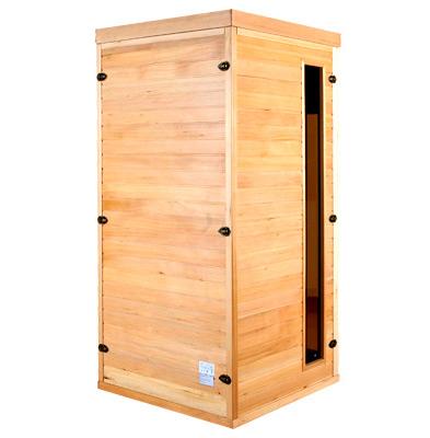 piscinex sauna apollon sauna infrarouge apollon 1 place. Black Bedroom Furniture Sets. Home Design Ideas