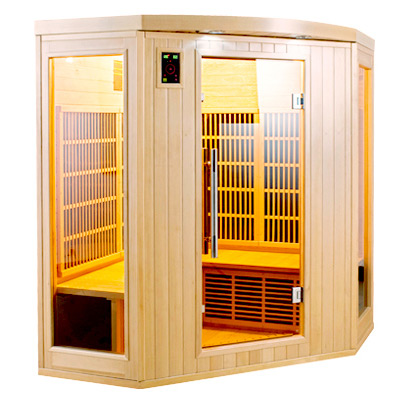 piscinex sauna apollon sauna infrarouge apollon 3 4. Black Bedroom Furniture Sets. Home Design Ideas