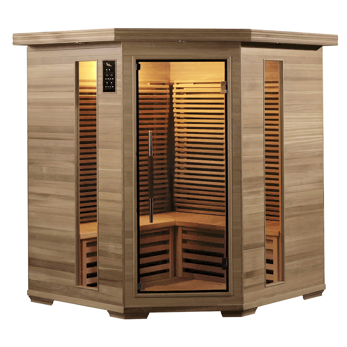 Piscinex sauna duo sauna infrarouge harmony 3 4 places - Prix sauna infrarouge ...