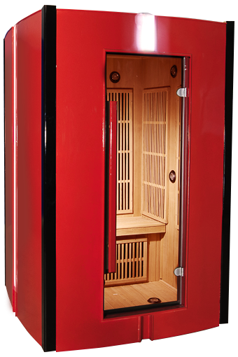 piscinex sauna duo sauna infrarouge fitness sauna rouge 2 places. Black Bedroom Furniture Sets. Home Design Ideas