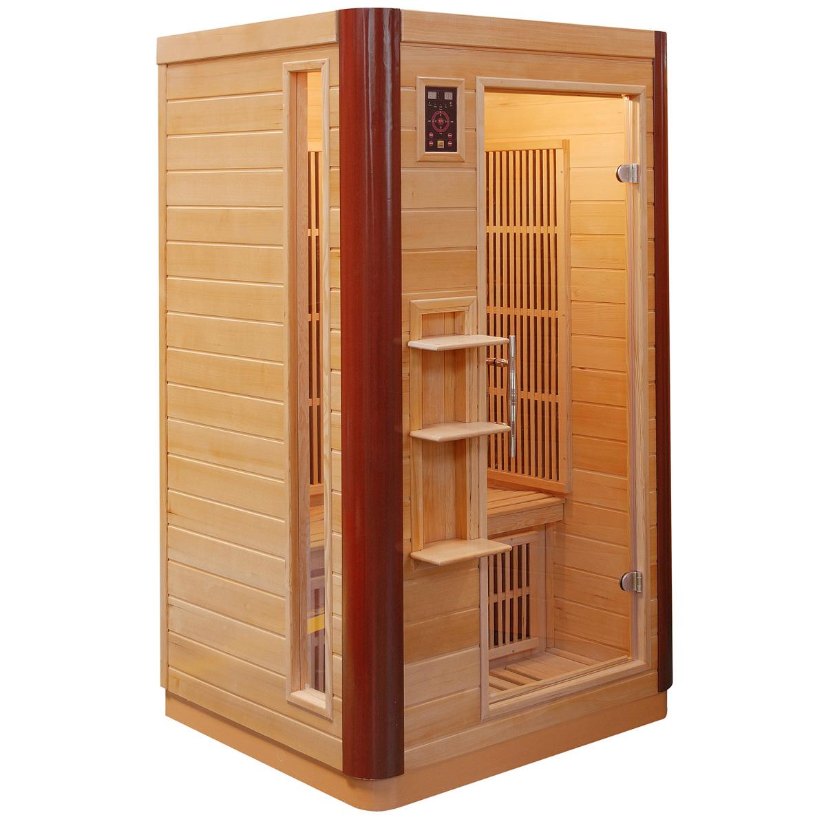 piscinex sauna prince sauna infrarouge prince 1 place. Black Bedroom Furniture Sets. Home Design Ideas