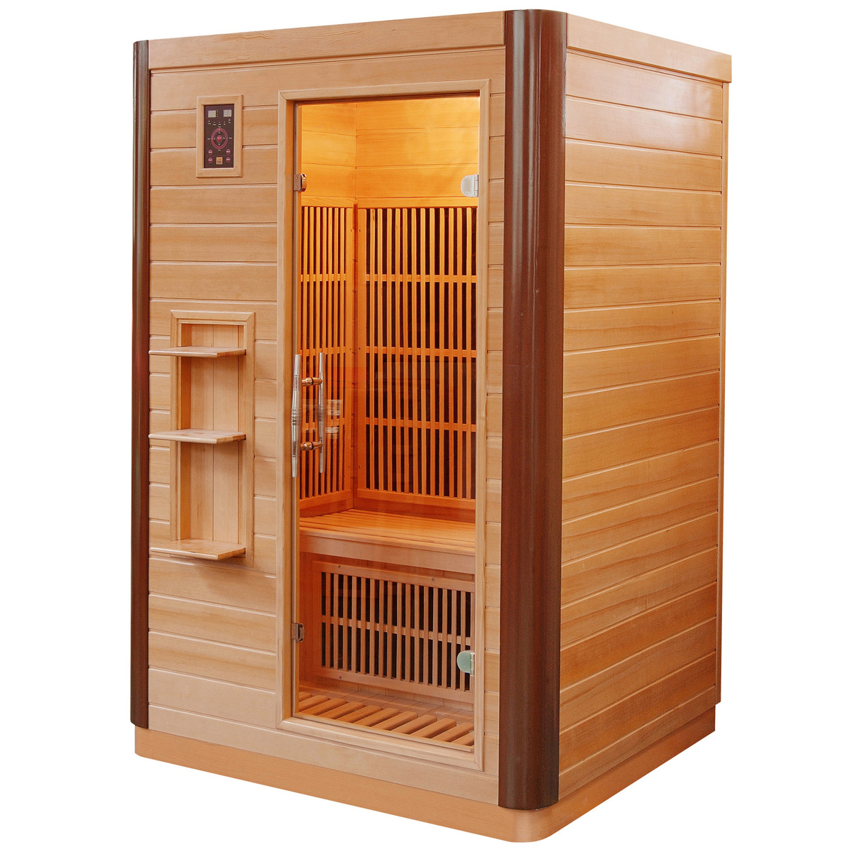 Piscinex sauna prince sauna infrarouge prince 2 places - Sauna infrarouge 2 places ...