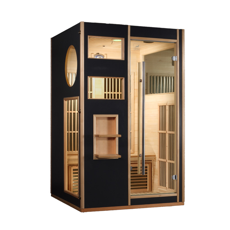 piscinex sauna saga sauna infrarouge fox 2 places. Black Bedroom Furniture Sets. Home Design Ideas