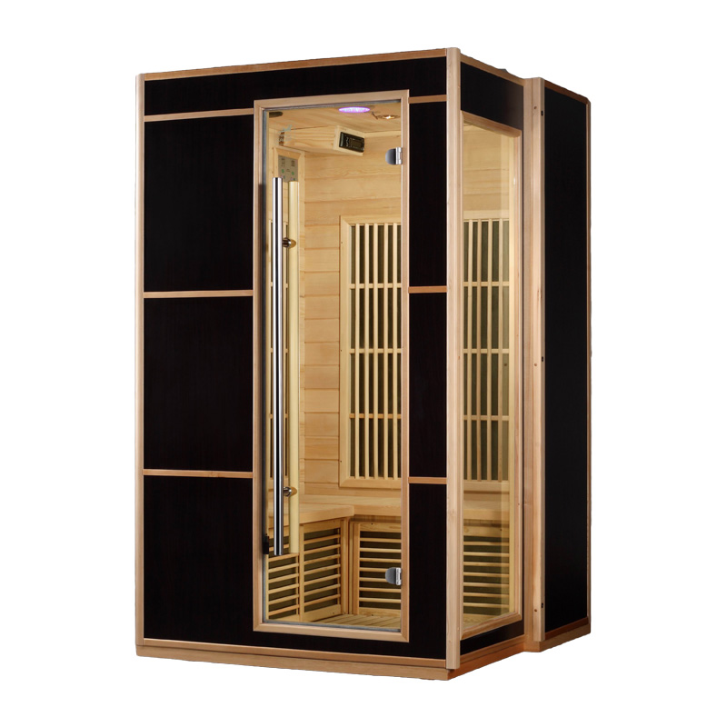 piscinex sauna saga sauna infrarouge genox 2 places. Black Bedroom Furniture Sets. Home Design Ideas