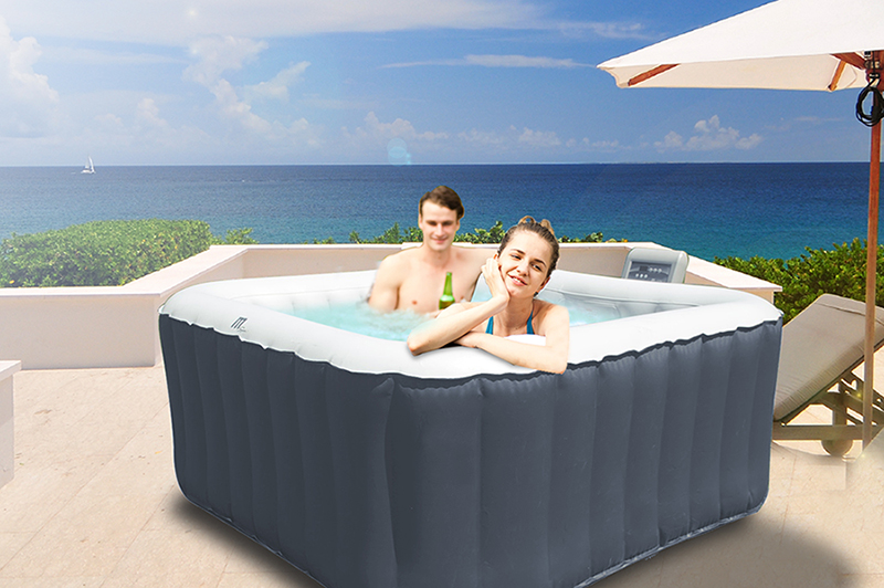 piscinex spa spa gonflable alpine lite 4 places 2 adultes 2 enfants. Black Bedroom Furniture Sets. Home Design Ideas