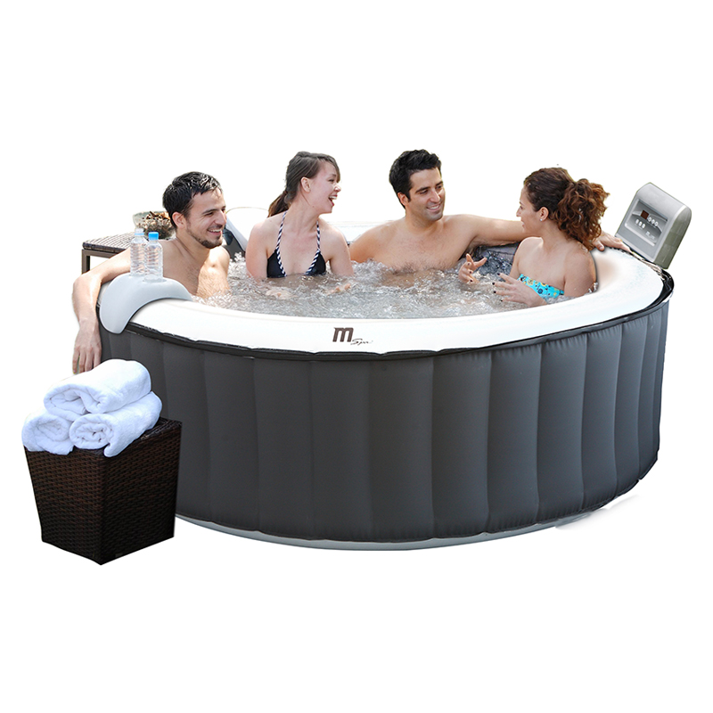 piscinex spa spa gonflable silver cloud lite 4 places d stockage. Black Bedroom Furniture Sets. Home Design Ideas