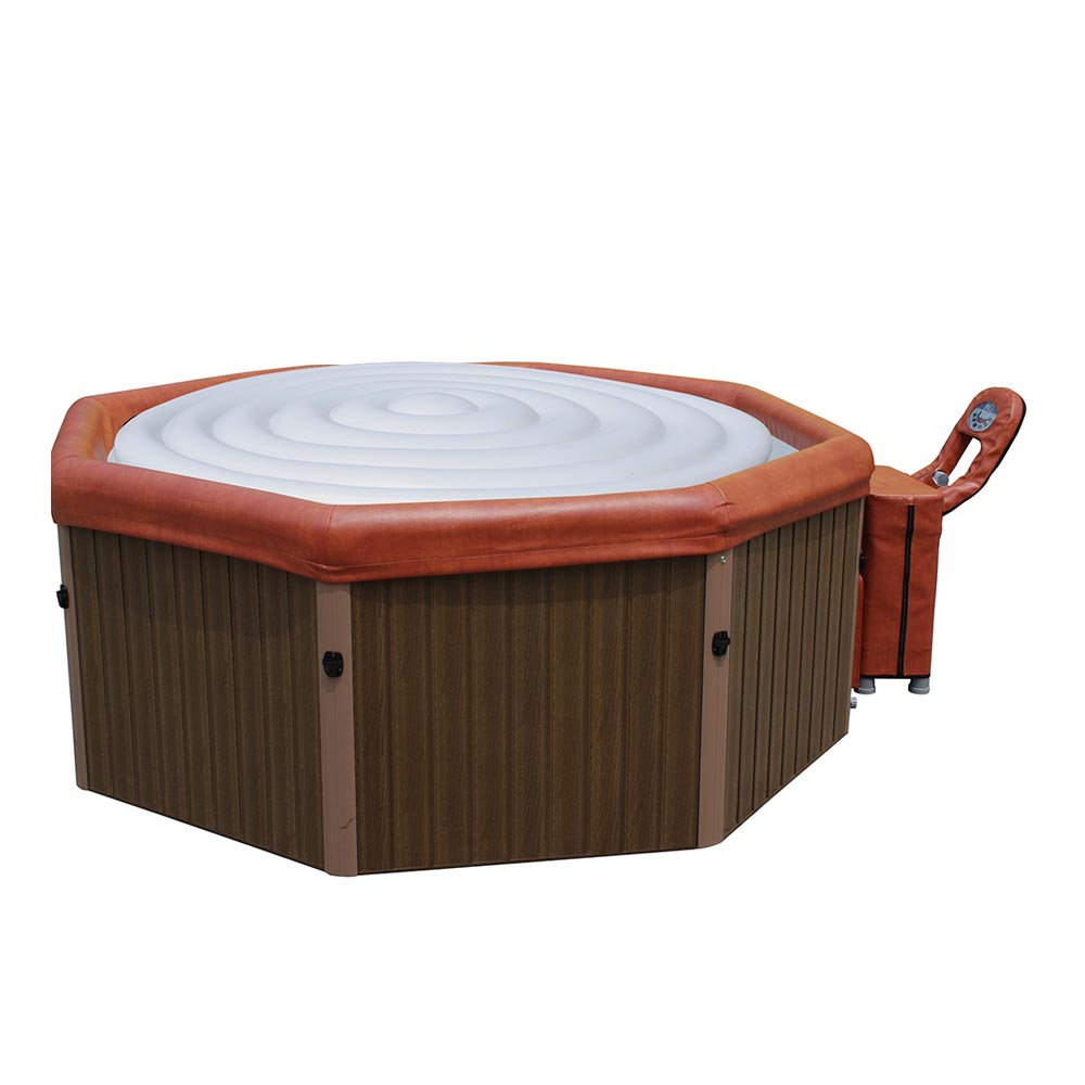Piscinex spa gonflable spa portable tuscany 4 places for Piscine transportable