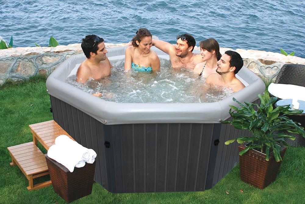 spa semi rigide trendy piscine with spa semi rigide finest spa jacuzzi rigide bona with spa. Black Bedroom Furniture Sets. Home Design Ideas