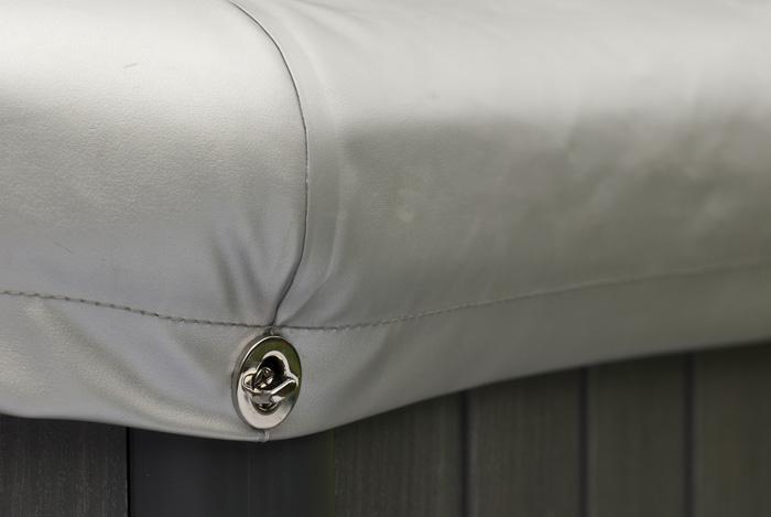 Piscinex spas jet spa portable tuscany jet 4 places - Couverture thermique spa ...