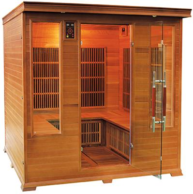 Sauna Infrarouge LUXE - FAMILY 4/6 places Reconditionné Neuf