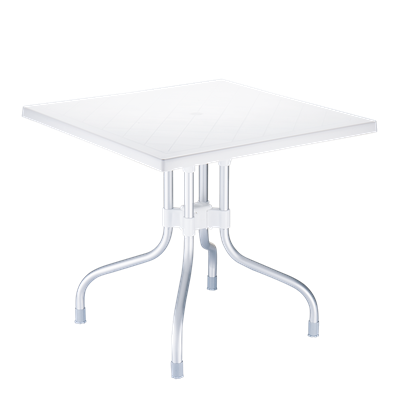 Table Indoor / Outdoor VAMOS Pliable blanche