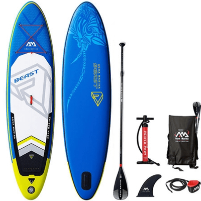 Aquamarina Beast - Stand Up Paddle gonflable - pack complet