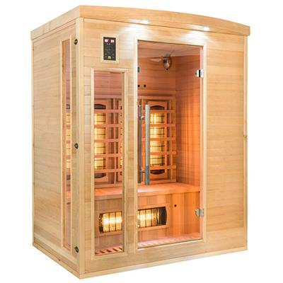 Sauna Infrarouge APOLLON Quartz - 3 Places reconditionné