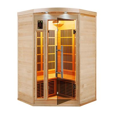 Sauna Infrarouge APOLLON - 2/3 Places angulaire Reconditionné