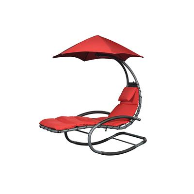 Chaise longue NEST swing rouge Reconditionné