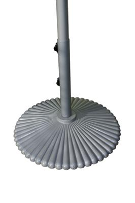 piscinex mobilier de jardin pied pour parasol luminaire solaire luciole. Black Bedroom Furniture Sets. Home Design Ideas