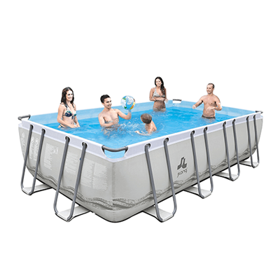 Piscine Tubulaire Mistral Grey - Reconditionnée - 2019