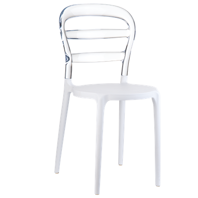 Chaises BOBO - 2 coloris disponibles - lot de 4