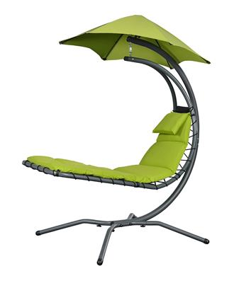 Chaise longue NEST MOVE verte