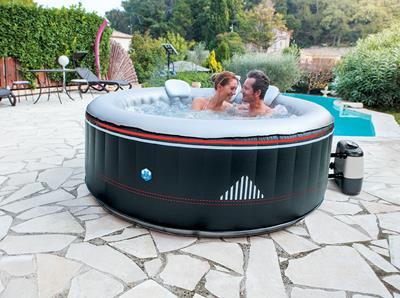 Spa gonflable rond NetSpa Montana 6 places