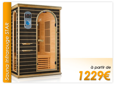 piscinex sauna infrarouge et traditionnel. Black Bedroom Furniture Sets. Home Design Ideas