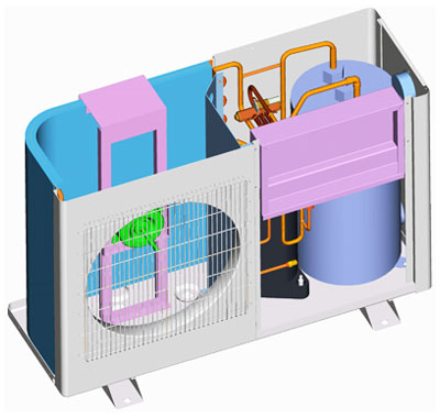 piscinex chauffage piscine pompe chaleur poolex jetline2 85 8 5kw 65m3. Black Bedroom Furniture Sets. Home Design Ideas