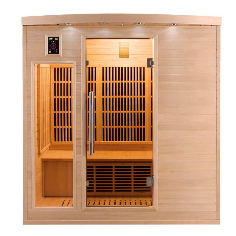 piscinex sauna sauna infrarouge apollon 4 places reconditionn. Black Bedroom Furniture Sets. Home Design Ideas