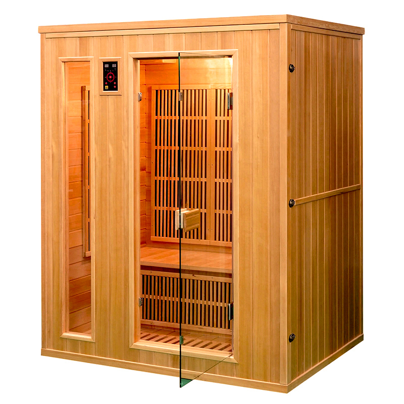 piscinex sauna athena sauna infrarouge ath na 3 places. Black Bedroom Furniture Sets. Home Design Ideas
