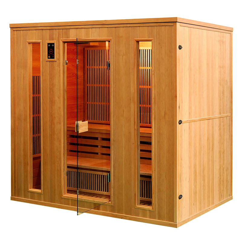 piscinex sauna athena sauna infrarouge ath na 5 places. Black Bedroom Furniture Sets. Home Design Ideas