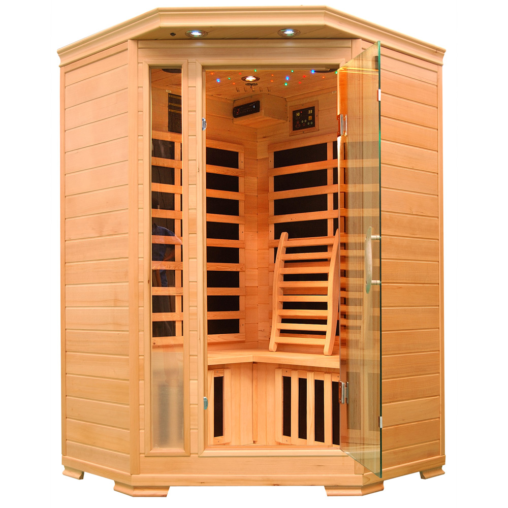 Piscinex sauna duo sauna infrarouge harmony 2 3 places - Sauna infrarouge 2 places ...