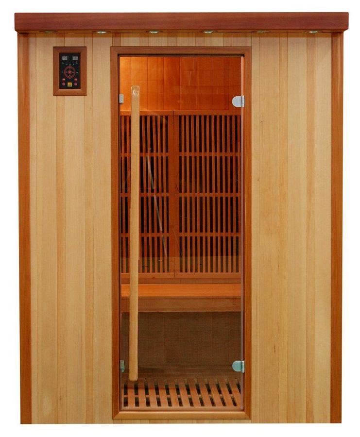 Piscinex sauna koulou sauna infrarouge koulou 3 places - Sauna infrarouge 3 places ...