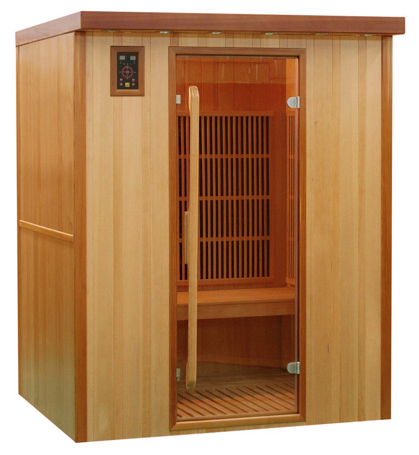 Piscinex sauna koulou sauna infrarouge koulou 3 places - Difference entre sauna infrarouge et traditionnel ...