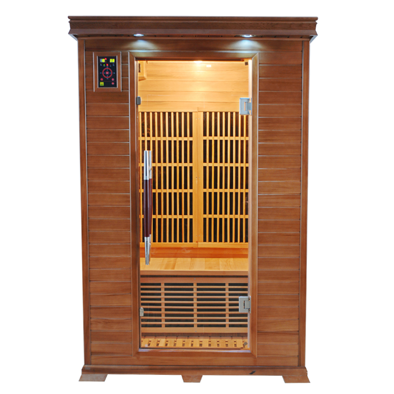 piscinex sauna sauna infrarouge luxe 2 places reconditionn. Black Bedroom Furniture Sets. Home Design Ideas